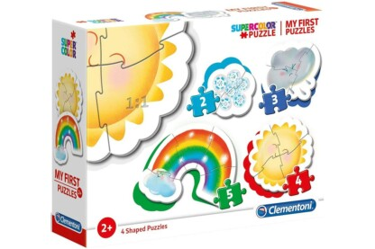 Clementoni 20817 - Bébi sziluett puzzle - Időjárás - 2,3,4,5 db-os puzzle
