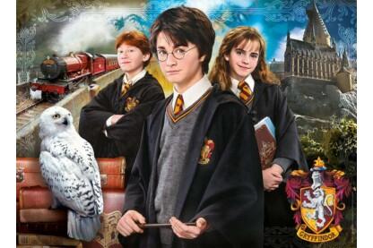 Clementoni 39466 - Puzzle bőröndben - Harry Potter - 1000 db-os puzzle