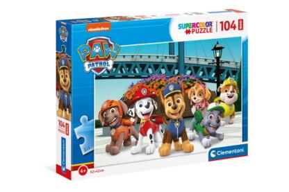 Clementoni 23755 - Mancs őrjárat - 104 db-os Szuper Színes Maxi puzzle