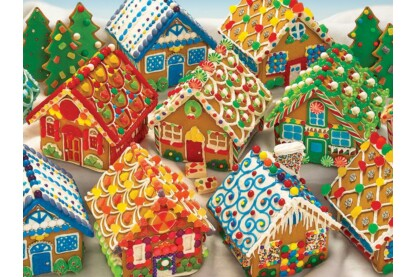 Cobble Hill 54616 - Gingerbread Houses - 350 db-os Family puzzle