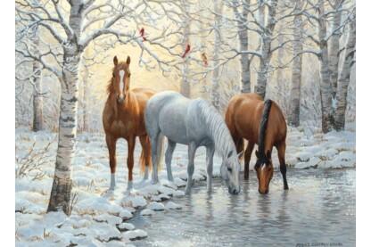 Cobble Hill 80055 - Winter Trio - 1000 db-os puzzle