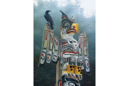 Cobble Hill 80085 - Totem Pole in the Mist - 1000 db-os puzzle