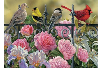Cobble Hill 80114 - Birds on a Fence - 1000 db-os puzzle