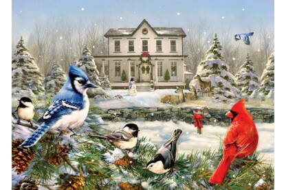 Cobble Hill 80119 - Country House Birds - 1000 db-os puzzle