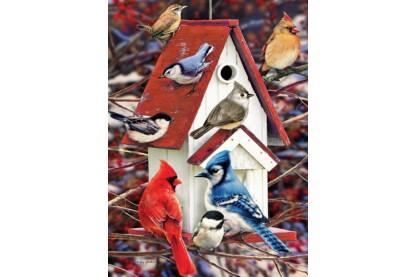 Cobble Hill 80122 - Winter Birdhouse - 1000 db-os puzzle