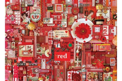 Cobble Hill 80146 - The Rainbow Project - Red - 1000 db-os puzzle