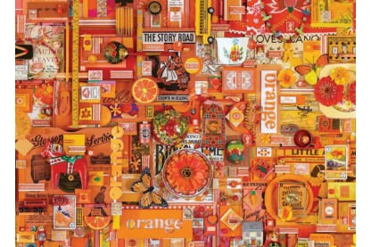 Cobble Hill 80147 - The Rainbow Project - Orange - 1000 db-os puzzle