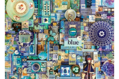 Cobble Hill 80150 - The Rainbow Project - Blue - 1000 db-os puzzle