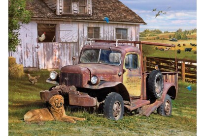 Cobble Hill 80199 - Summer Truck - 1000 db-os puzzle