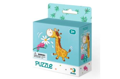 Dodo 300163 - Kicsi zsiráf - 16 db-os puzzle