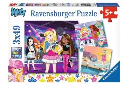 Ravensburger 09236 - Nancy és barátai - 3 x 49 db-os puzzle