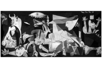 Educa 11502 - Panoráma puzzle - Picasso - Guernica - 3000 db-os puzzle