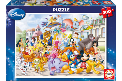 Educa 13289 - Disney parádé - 200 db-os puzzle