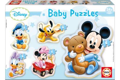 Educa 13813 -  Baby sziluett puzzle - Disney - Mickey - 3,4,5 db-os puzzle