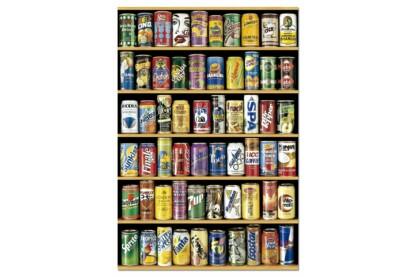Educa 14446 - Üdítős dobozok - 1500 db-os puzzle