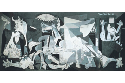 Educa 14460 - Miniature puzzle - Picasso - Guernica - 1000 db-os puzzle