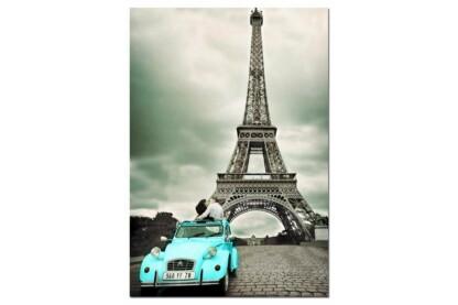 Educa 14845 - Black & White - Eiffel-torony, Párizs - 500 db-os puzzle