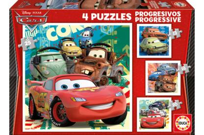 Educa 14942 - Verdák 2 - 4 az 1-ben puzzle (12,16,20,25 db-os) puzzle