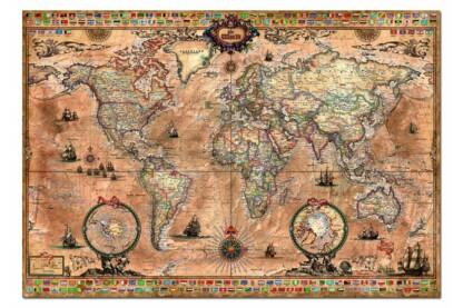 Educa 15159 - Antik térkép - 1000 db-os puzzle