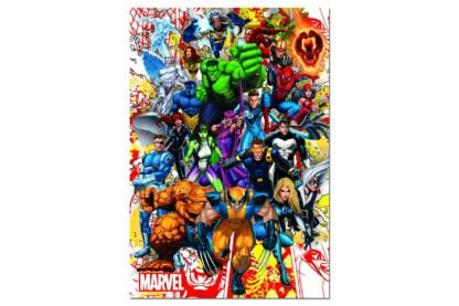 Educa 15560 - Marvel hősök - 500 db-os puzzle