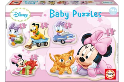 Educa 15612 -  Baby sziluett puzzle - Disney - Minnie - 3,4,5 db-os puzzle