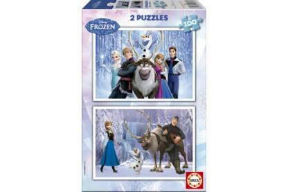 Educa 15767 - Jégvarázs - 2 x 100 db-os puzzle