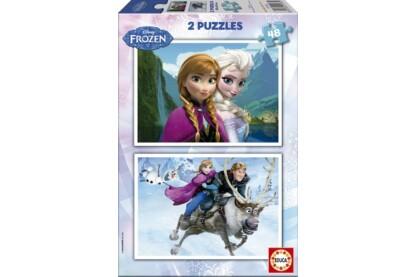 Educa 15768 - Jégvarázs - 2 x 48 db-os puzzle