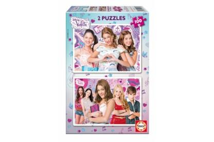 Educa 15769 - Violetta - 2 x 100 db-os puzzle