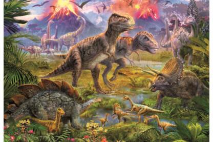 Educa 15969 - Dinoszauruszok - 500 db-os puzzle