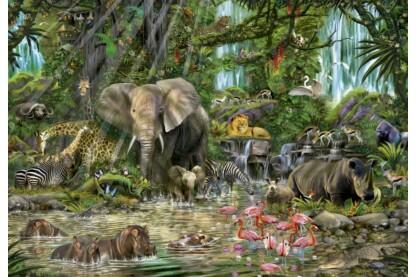 Educa 16013 - Afrikai dzsungel - 2000 db-os puzzle