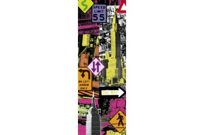 Educa 16017 - Panoráma puzzle - New York Pop art - 2000 db-os puzzle