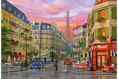 Educa 16022 - Párizsi utca - D.Davison - 5000 db-os puzzle