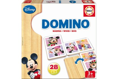 Educa 16037 - Mickey és Minnie Fadominó