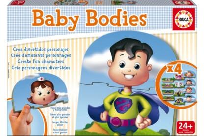 Educa 16222 - Testek - Baby oktató puzzle