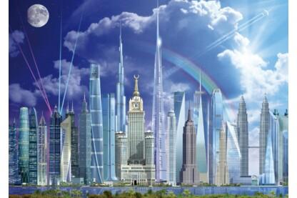 Educa 16287 - A világ legmagasabb épületei - 1000 db-os puzzle