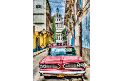 Educa 16754 - Veterán autó Havannában - 1000 db-os puzzle