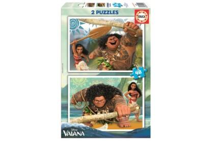 Educa 16952 - Vaiana - 2 x 48 db-os puzzle