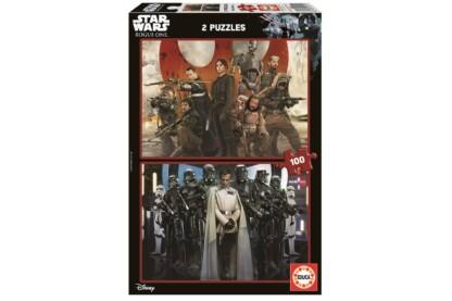 Educa 17012 - Zsivány Egyes - Egy Star Wars-történet - 2 x 100 db-os puzzle