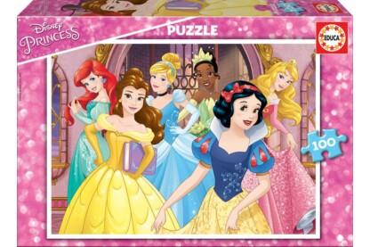 Educa 17167 -  Disney Princess - 100 db-os puzzle