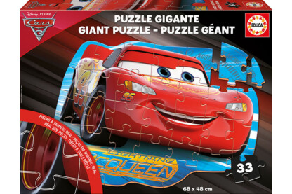 Educa 17180 - Verdák 3 - 33 db-os Óriás puzzle