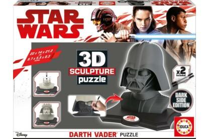 Educa 17334 - Darth Vader - Dark Side Edition - 160 db-os 3D szobor puzzle