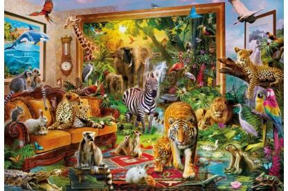 Educa 17679 - Életre kelt festmények - 6000 db-os puzzle