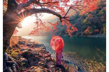 Educa 18455 - Napkelte a Katsura folyónál - 1000 db-os puzzle