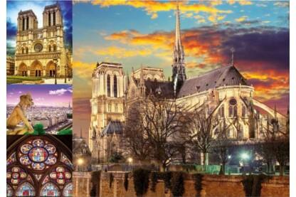 Educa 18456 - Notre Dame - 1000 db-os puzzle