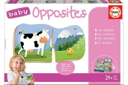Educa 18122 - Ellentétek - Baby oktató puzzle