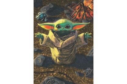 Educa 18892 - Star Wars The Mandalorian - Baby Yoda - 1000 db-os puzzle