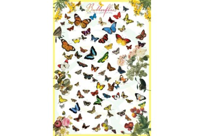 EuroGraphics 6000-0077 - Butterflies - 1000 db-os puzzle