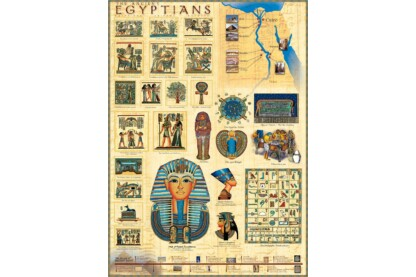 EuroGraphics 6000-0083 - Ancient Egyptians - 1000 db-os puzzle