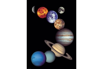 EuroGraphics 6000-0100 - NASA - Solar System - 1000 db-os puzzle
