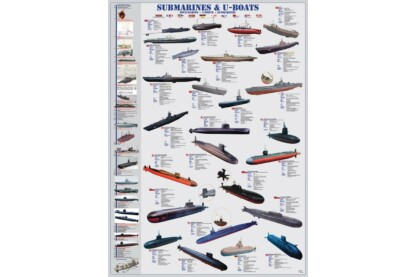 EuroGraphics 6000-0132 - Submarines & U-Boats - 1000 db-os puzzle